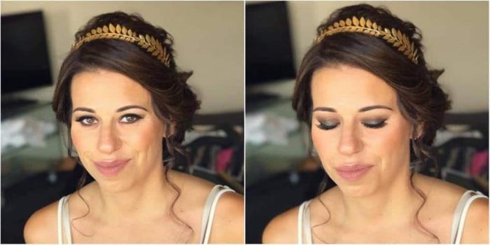 maquillaje y peinado invitada a boda