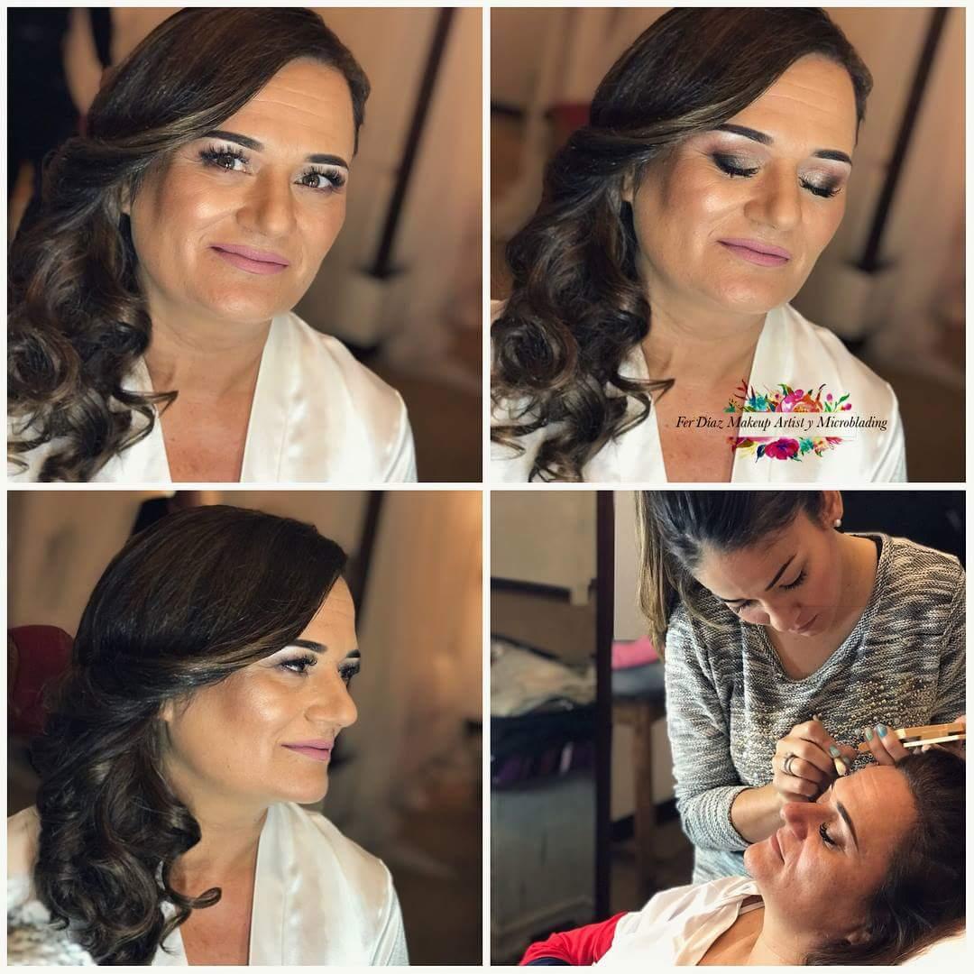 Maquillaje y recogido de novia en madrid