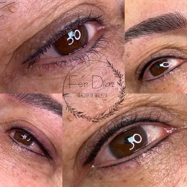 linea de ojos
